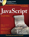 JavaScript Bible book cover